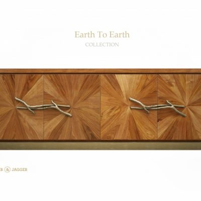 Ginger And Jagger Earth To Earth Walnut Sideboard 3D Model
