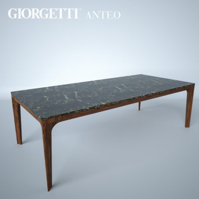 Giorgetti Anteo Table 3D Model