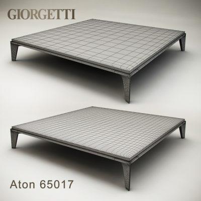 Giorgetti Aton Table 3D Model