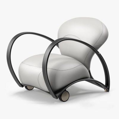 Giorgetti Branca Armchair 3D Model