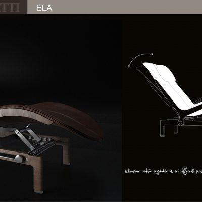 Giorgetti Ela Chair 3D Model