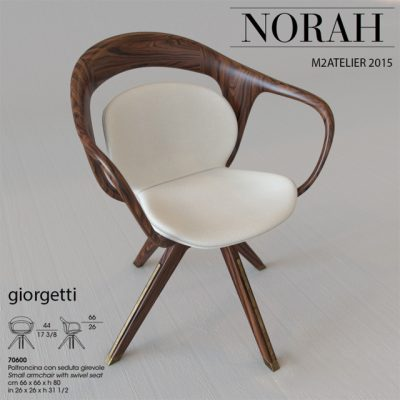 Giorgetti Norah Armchair 3D Model