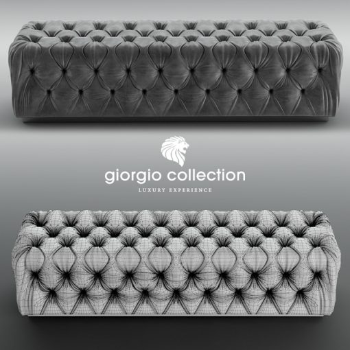 Giorgio Collection Sunrise Bench 3D Model 2