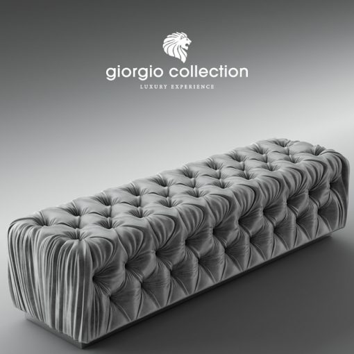 Giorgio Collection Sunrise Bench 3D Model 3