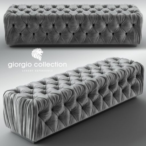 Giorgio Collection Sunrise Bench 3D Model