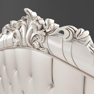 Gioriocasa Casa Bella Bed 3D Model