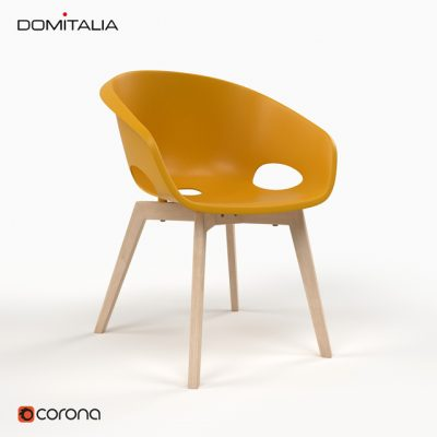 Globe-LG Chair 3D Model