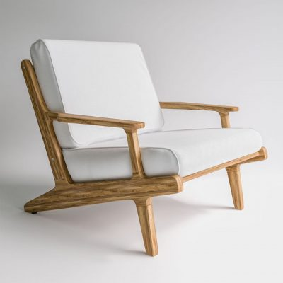 Glosterbay Lounge Chair 3D Model