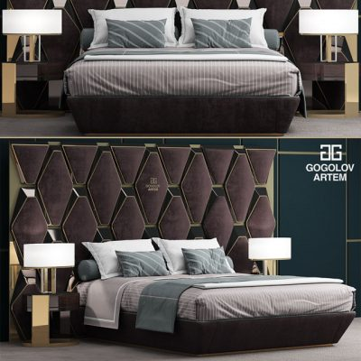 Gogolov Artem Bed 3D Model