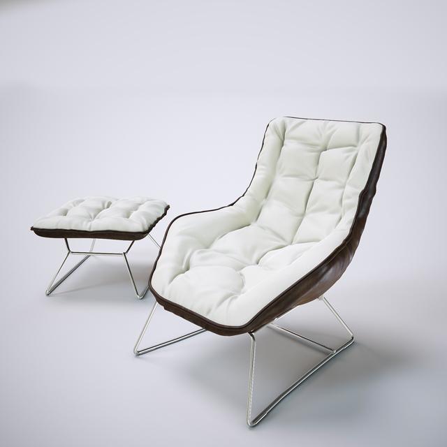 Grandtour Zanotta Chair 3D Model