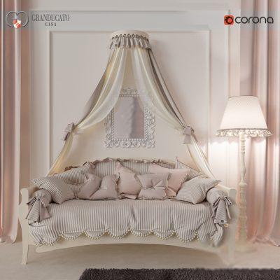 Granducatocasa Camerette Mariposa Sofa 3D Model
