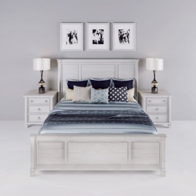 Greensburg King Panel Bed 3D model