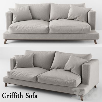 Griffith Sofa 3D Model