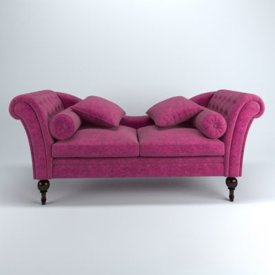 Guadarte Lounge Chaise 3D Model