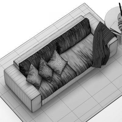 Gulio Marelli Sofa 3D Model