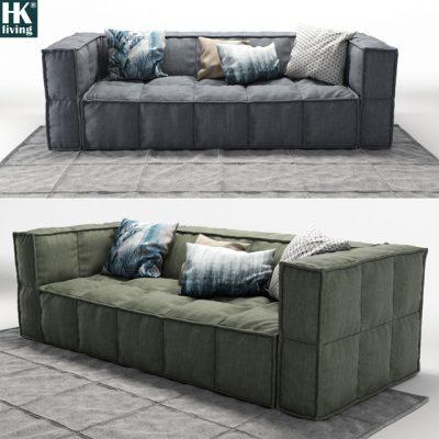 HK-Living Sofa 3D Model