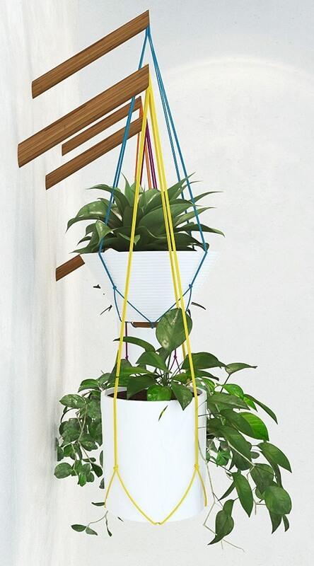 Handing pot plant 3D model 3