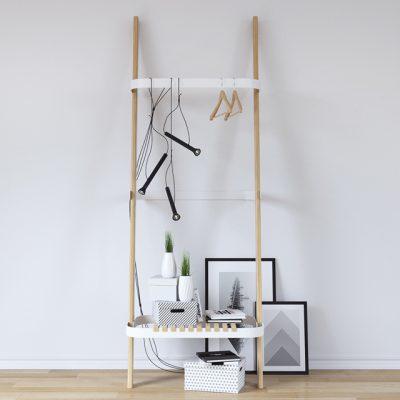 Hanger Pual Rack 3D Model
