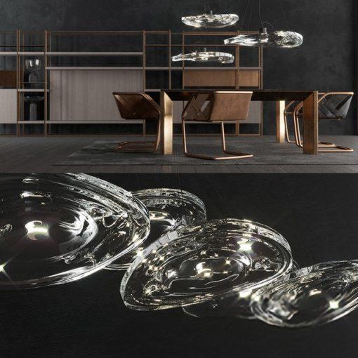 Henge Terzani Leebroom Table & Chair 3D Model