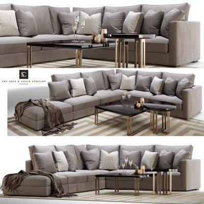 Henley Modular Sofa 3D Model