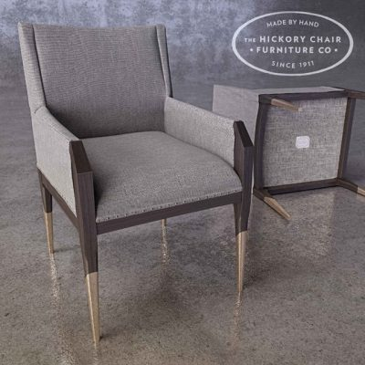 Hickory Tate Chair 3D Model