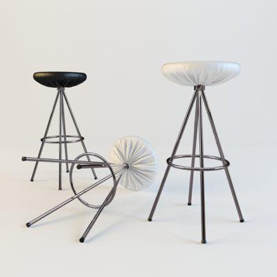 Hocker-32324 Chair 3D Model