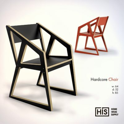 Home Ideas Supply – Hardcore Chair 3D Model