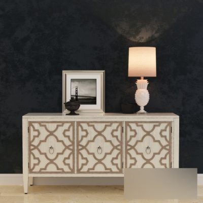 Hooker Furniture Melange Miranda Credenza Sideboard 3D Model