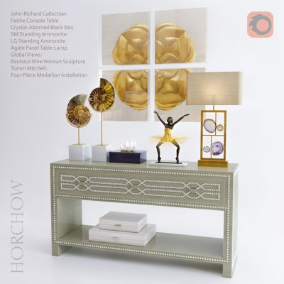 Horchow Decorative Set 3D Model