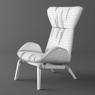Horm Soho Armchair 3D Model