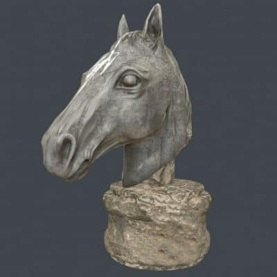 Horse Sculpture 3D model