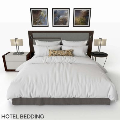 Hotel Bed 3D model