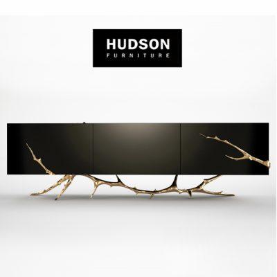 Hudson Furniture Meta Credenza Sideboard 3D Model