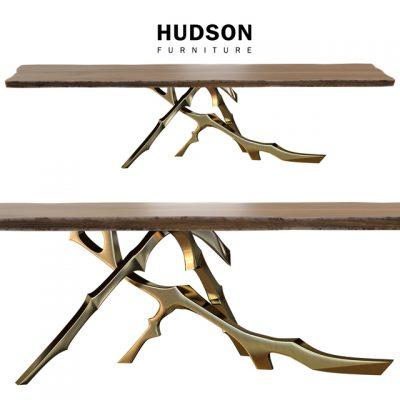 Hudson Grolier Table & Chair 3D Model