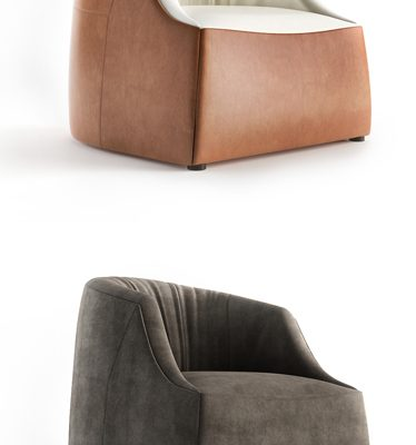 I4 MARIANI 60th Sofa & Armchair Set 3D Model