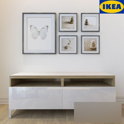 IKEA Besta Tv Stand – Sideboard 3D Model