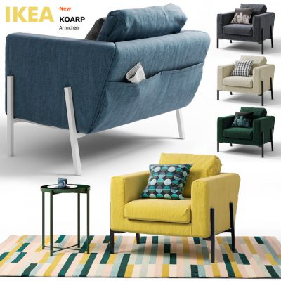 IKEA Coarp Armchair 3D Model