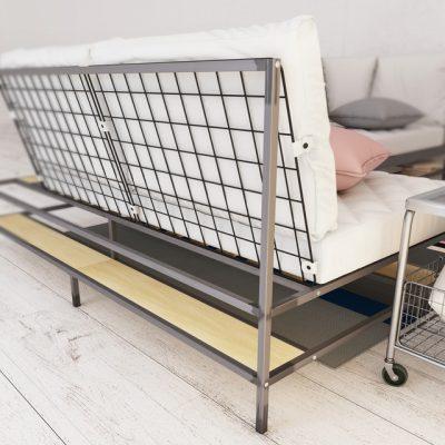 Ikea Ekebol Sofa 3D Model