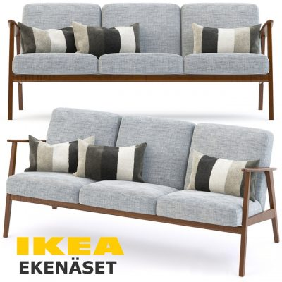 Ikea Ekena Sofa Set 3D Model