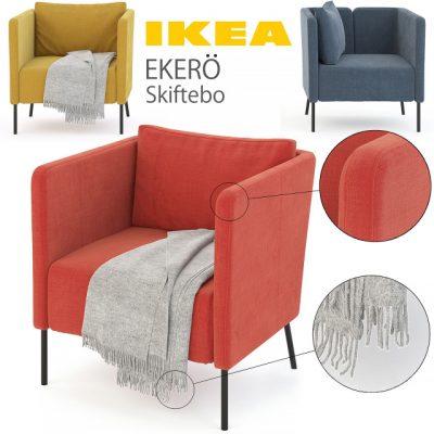Ikea Ekero Armchair 3D Model