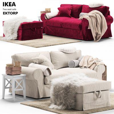 Ikea Ektor Sofa 3D Model