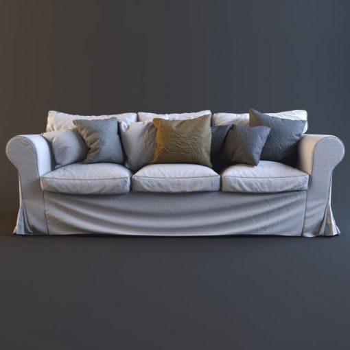 Ikea Ektorp Sofa Set-04 3D Model