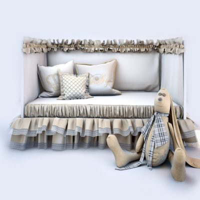Ikea Hare Baby Bed 3D Model