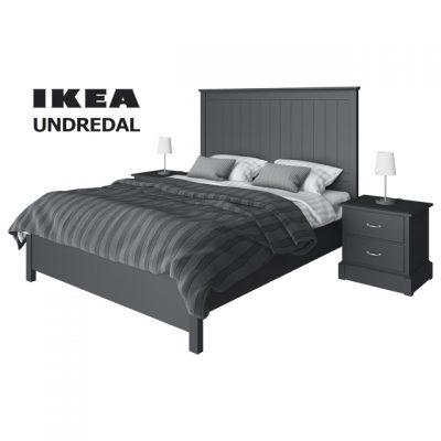 Ikea Undredal Bed 3D Model