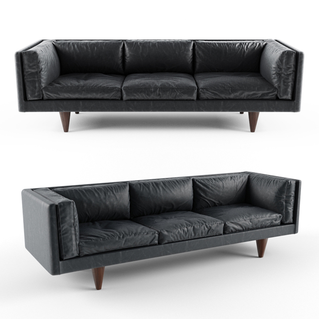 Illum Wikkelso Sofa 3D Model