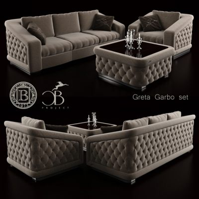 Bordignon Camillo Sofa 3D model 1