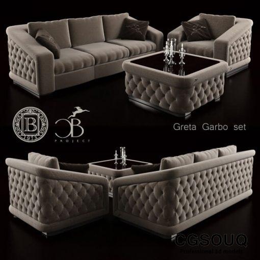 Bordignon Camillo Sofa 3D model 1
