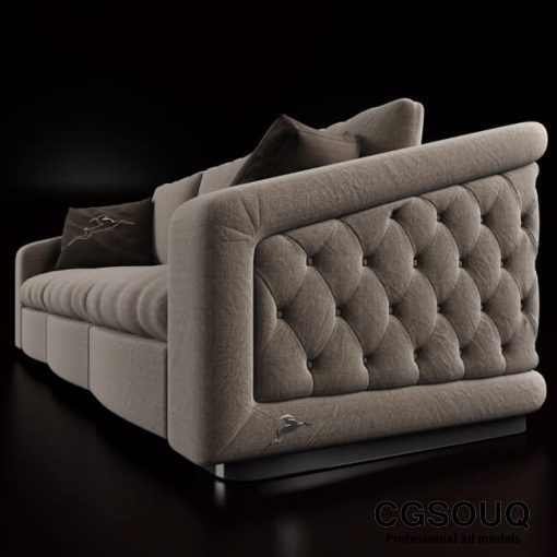 Bordignon Camillo Sofa 3D model 2