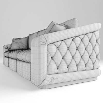 Bordignon Camillo Sofa 3D model 3