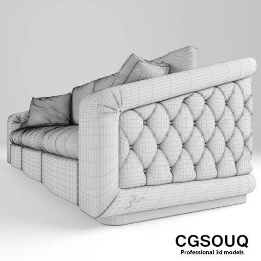 Bordignon Camillo Sofa 3D model 3